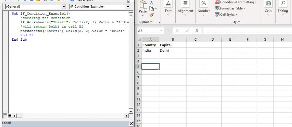 IF THEN Statement in VBA1