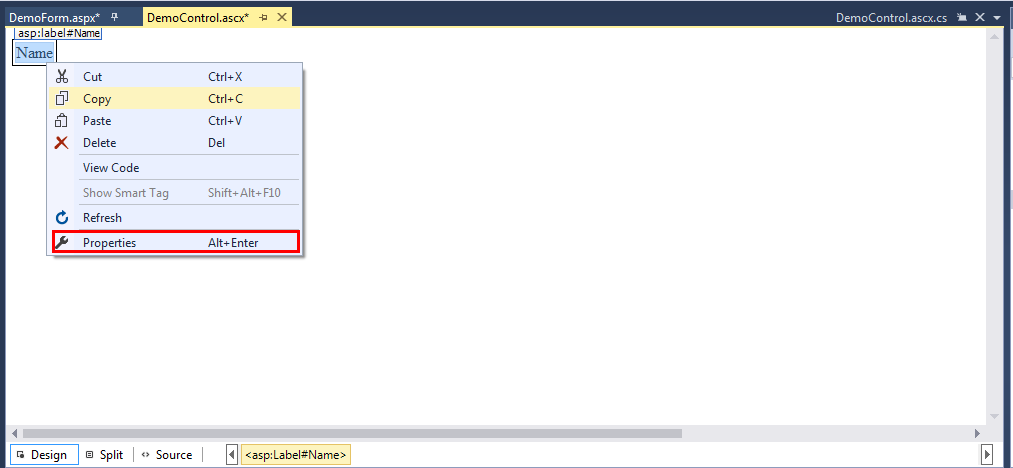 Introduction of .Net Web Form:-4