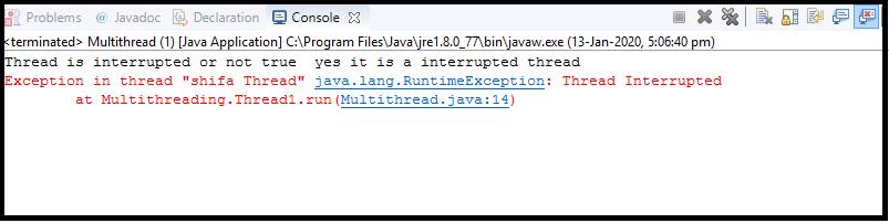 Java Thread class10