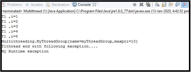 Java Thread class18
