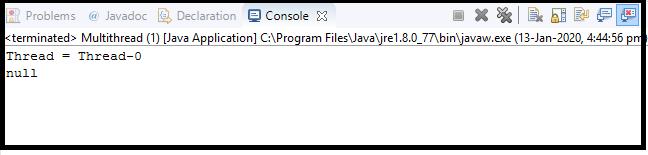 Java Thread class19