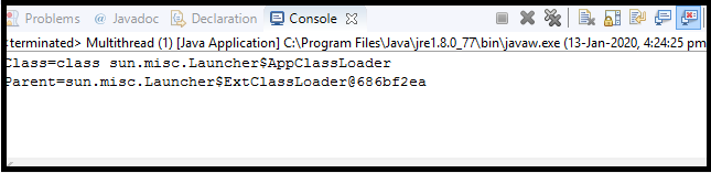 Java Thread class2