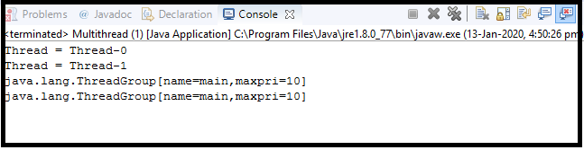 Java Thread class20