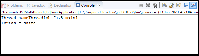 Java Thread class4