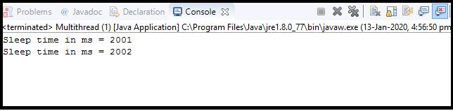 Java Thread class6