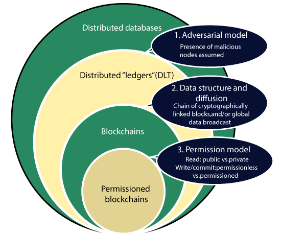 Blockchains vs Distributed ledger Technology