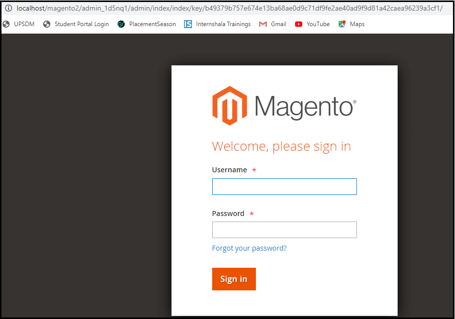 Errors and Fixes in Magento2