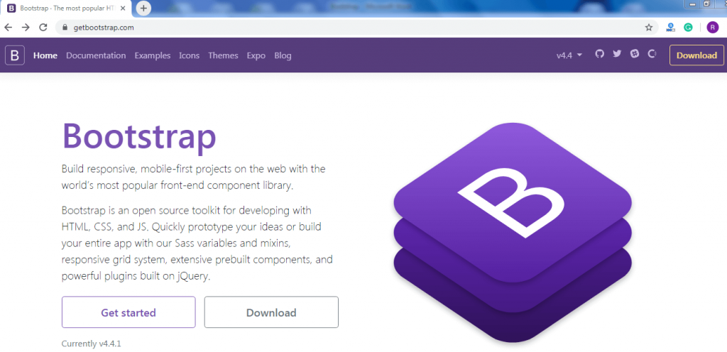 Bootstrap 4 Tutorial