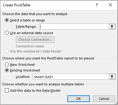 Pivots Table in Excel