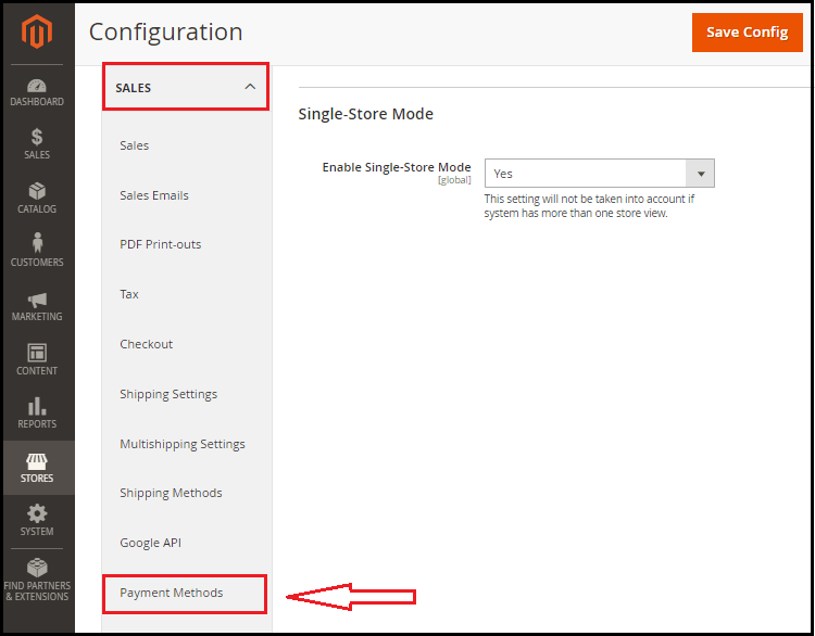 Setup Check Money Order Payment Method in Magento