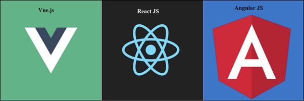 Difference Between Vue.js ReactJS and AngularJS