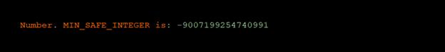 Number in ES6