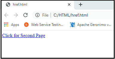 HTML Anchor