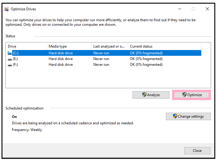 How to defrag a computer?