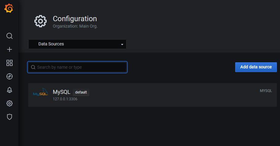 Integrate Grafana with MySQL