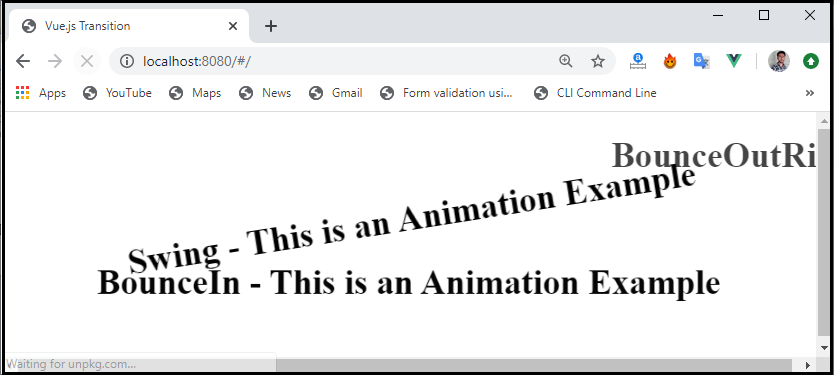 Vue.js Transition and Animation