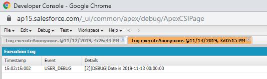 Primitive Data Types in Apex