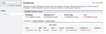 Salesforce Navigating Setup UI