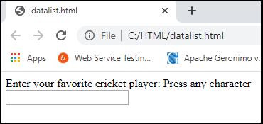 HTML Data Tag