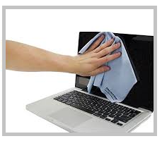 How to clean a computer screen