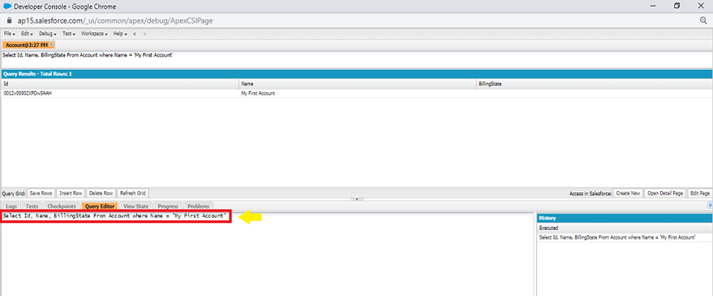 Salesforce Creating and Retrieving Data in UI