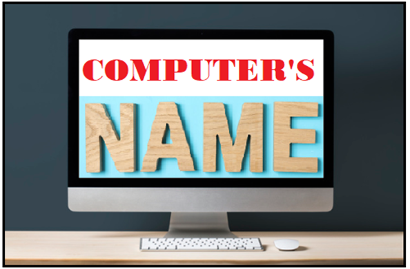 How to find Computer name on Windows