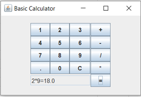 Calculator Program in Java