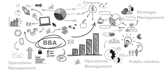 Course Structure of BBA