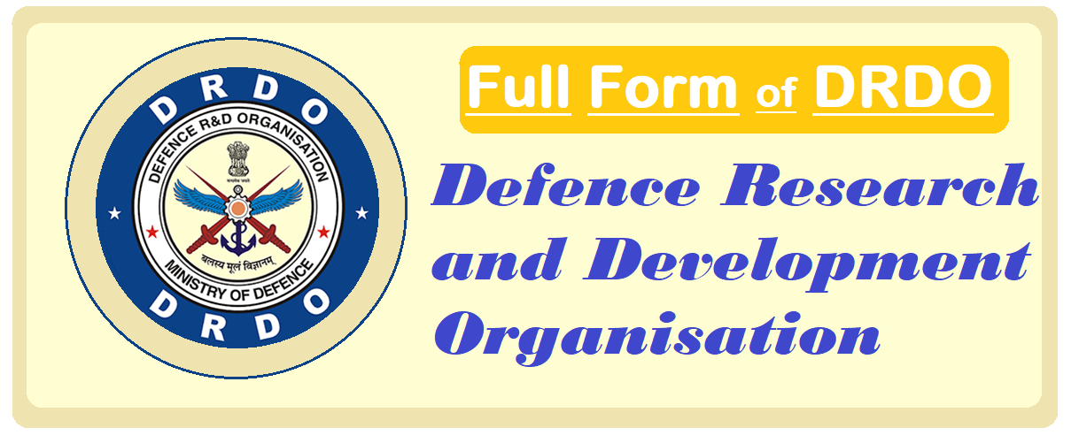 Full Form of DRDO