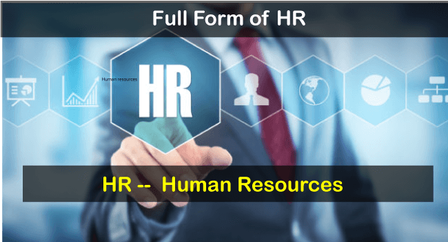 Full Form of HR