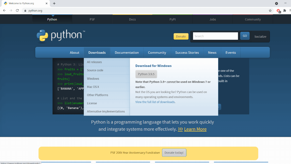 How to Update Python