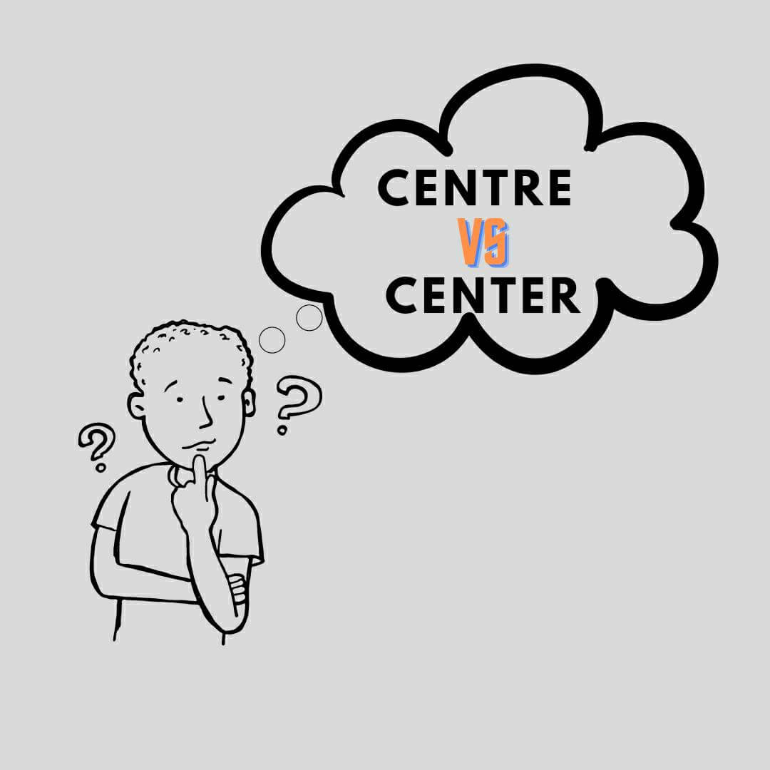 Difference Between Center and Centre